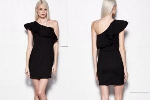 sukienka czarna mohito 2015