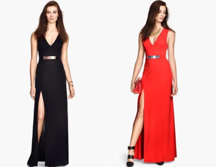 sukienki hm wiosna lato 2015