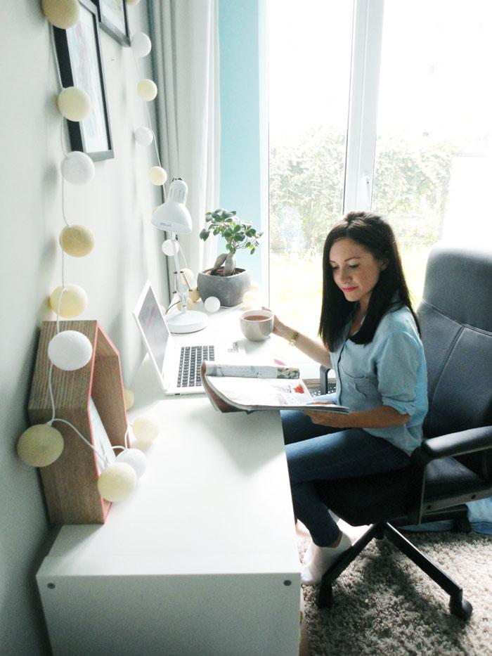 biurko aranżacja