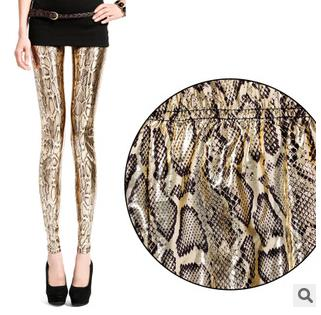 2015-summer-new-European-and-American-women-s-font-b-leggings-b-font-gold-snake-gold