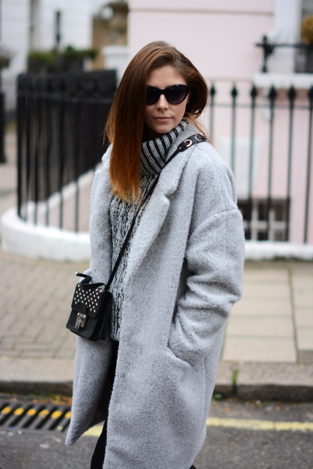 EJSTYLE-Grey-primark-cocoon-coat-black-trousers-Chunky-knit-Autumn-Winter-Outfit-OOTD