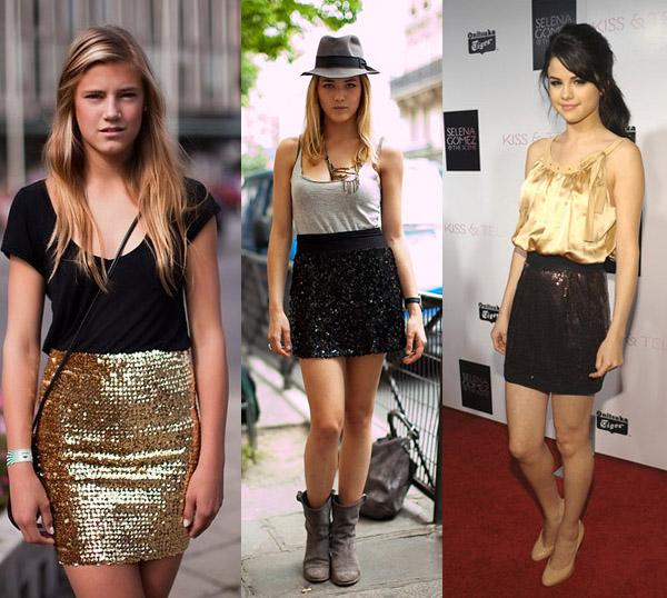 S038-Sequin-Mini-Skirt-Black-Gold-Silver-16