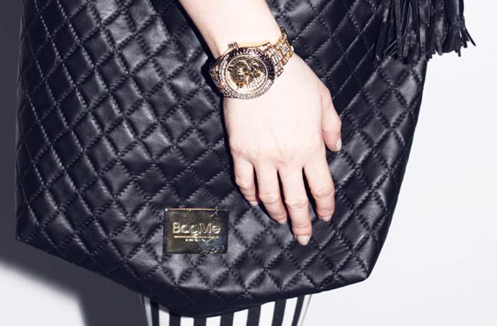 Złoty zegarekz tygrysem 4
