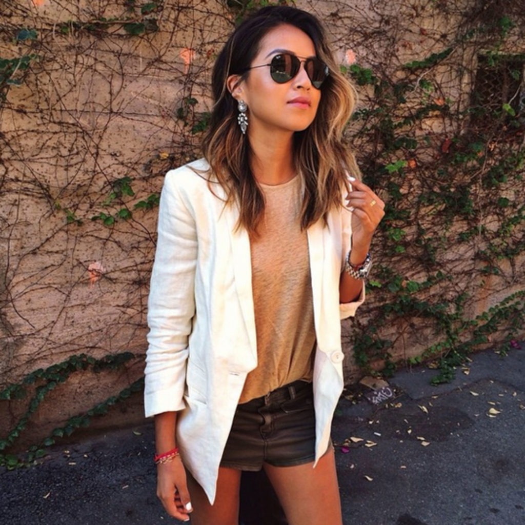 sincerely-jules-white-blazer-denim-shorts-main