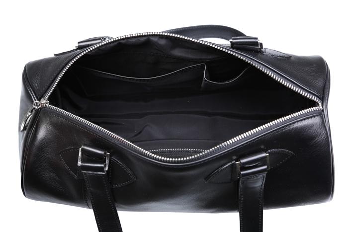 torebka czarna cylindryczna