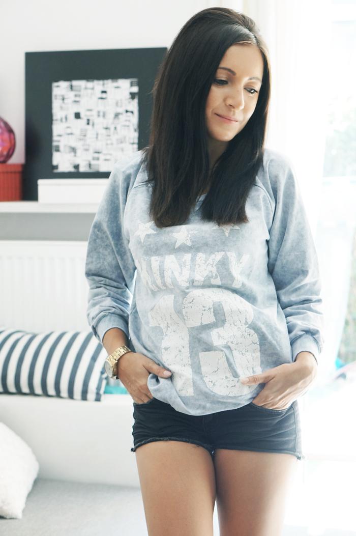 bluza sportowa z numerem