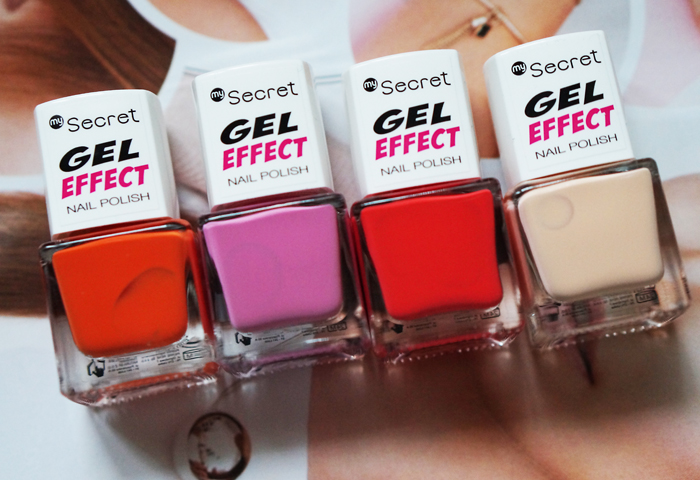 secret lakiery gel effect
