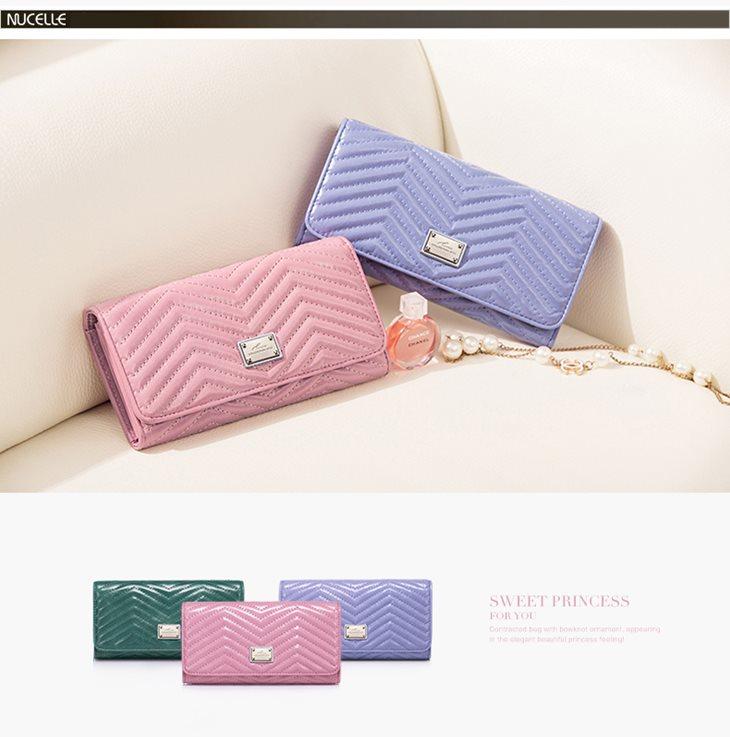 pastelowy portfel
