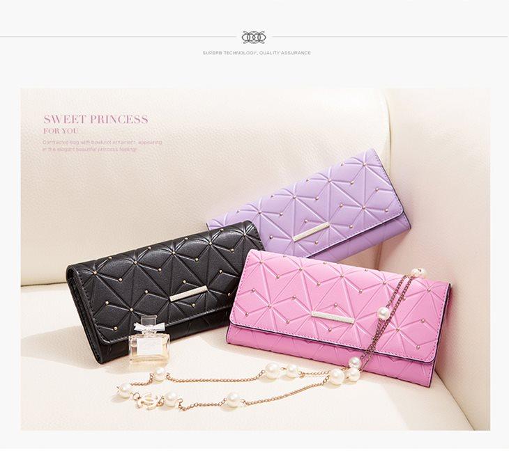 pikowany portfel