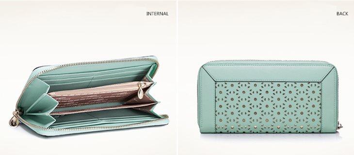 portfel błękitny