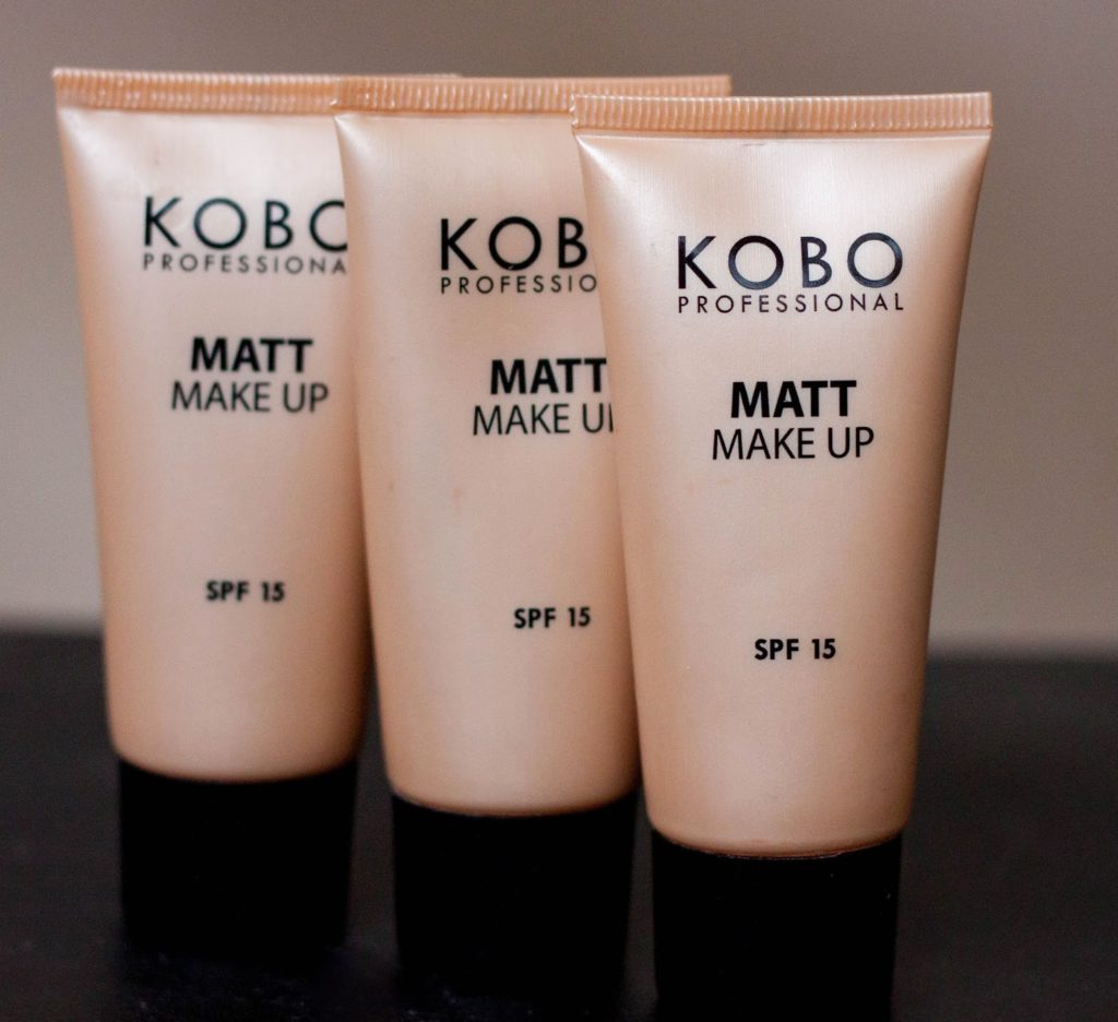 kobo matt make up professional spf 15-9917