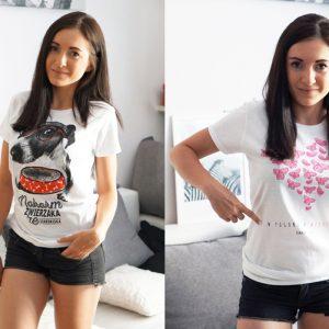 Wesprzyj razem ze mną te akcje charytatywne i kup koszulkę
