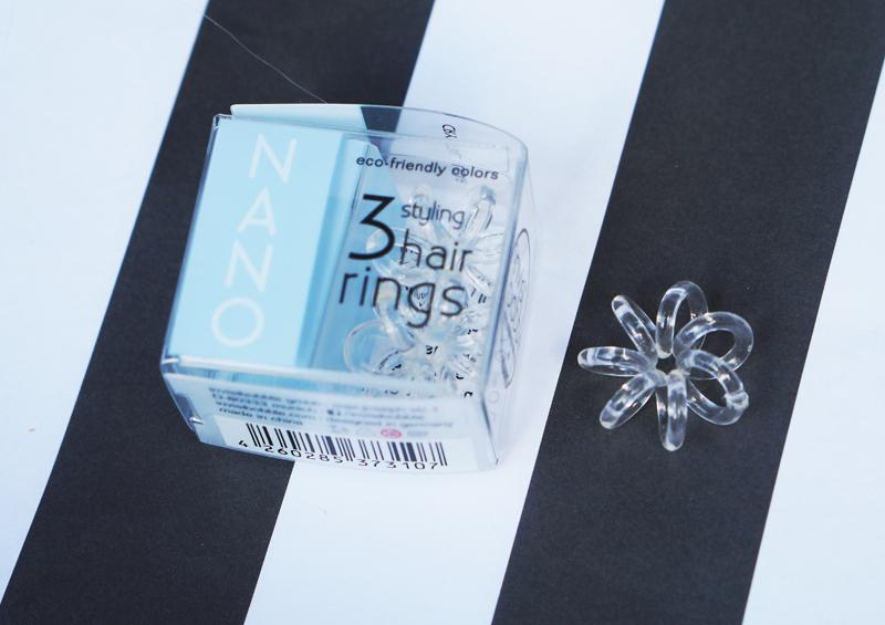 nano gumki do włosów