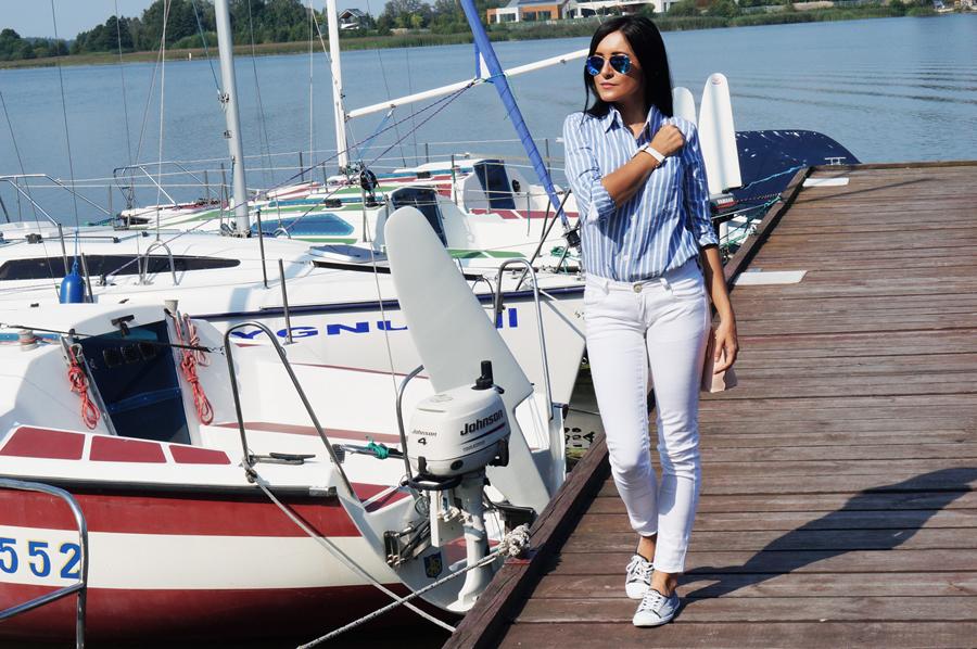 marynarska stylizaja