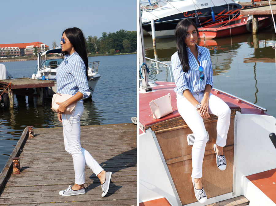 marynarskia stylizacja blog