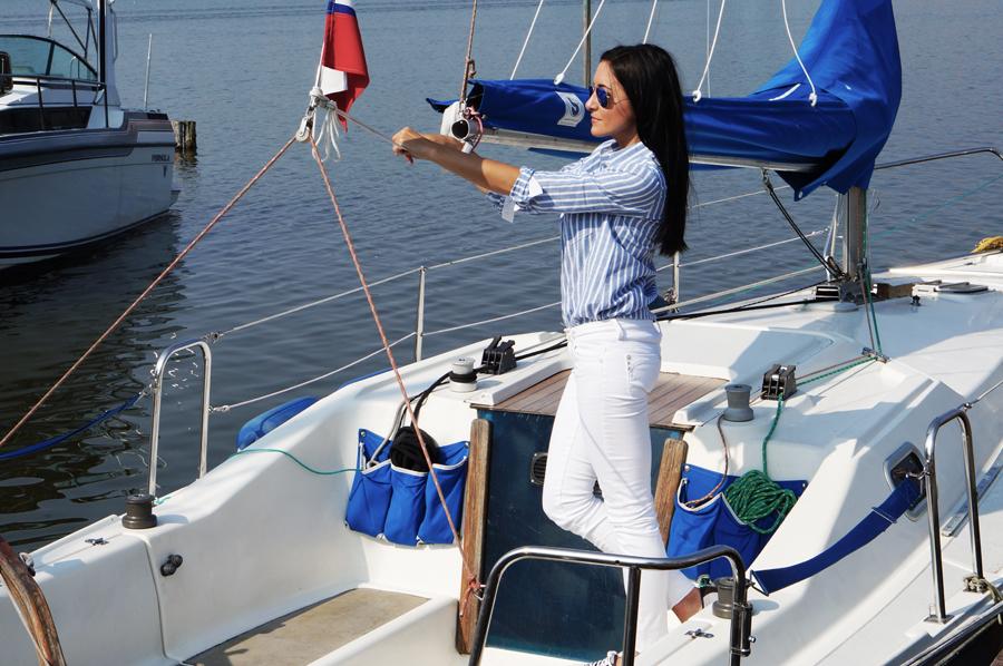 marynarskie ubrania