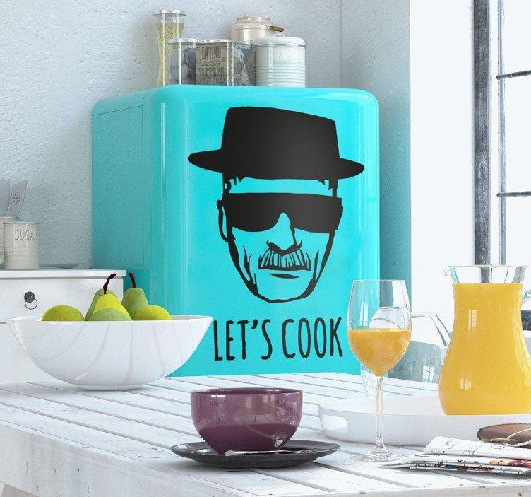 naklejka-na-lodowke-heisenberg-lets-cook-8797
