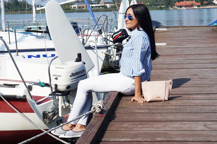 Marynarska stylizacja
