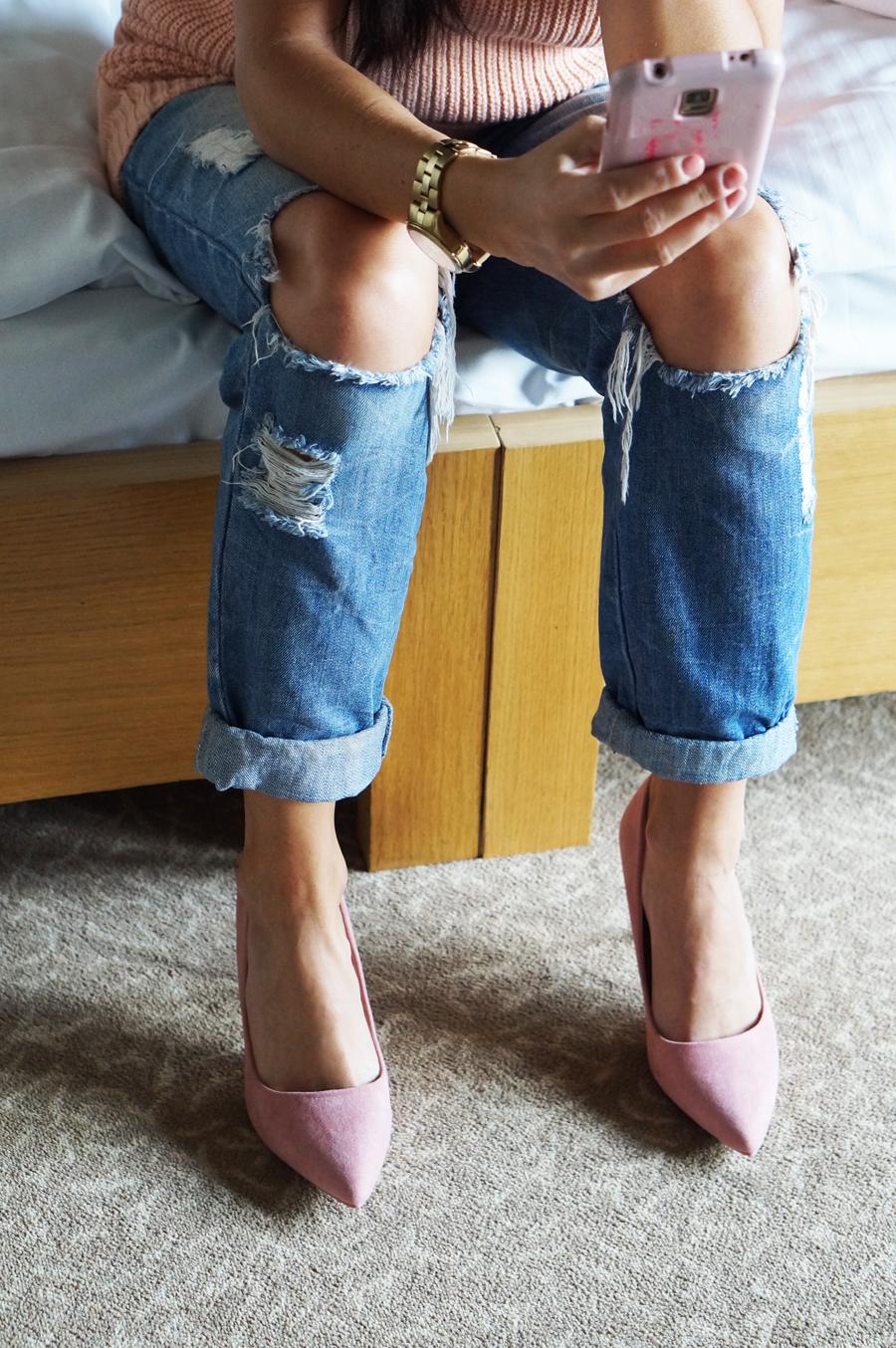 spodnie boyfriend