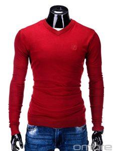 czerwony-sweter-meski