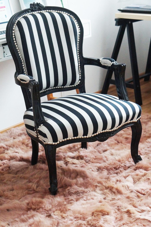 fotel zebra