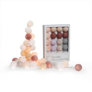 pomysł na prezent do domu cotton balls