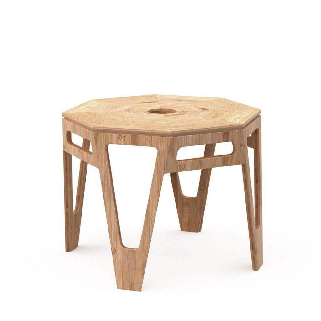 pomysł na prezent do domu drewniany stolik