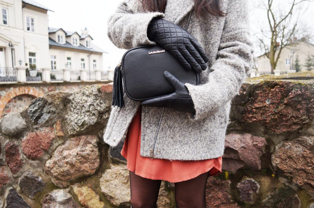 rękawiczki skórzane czarne napogloves