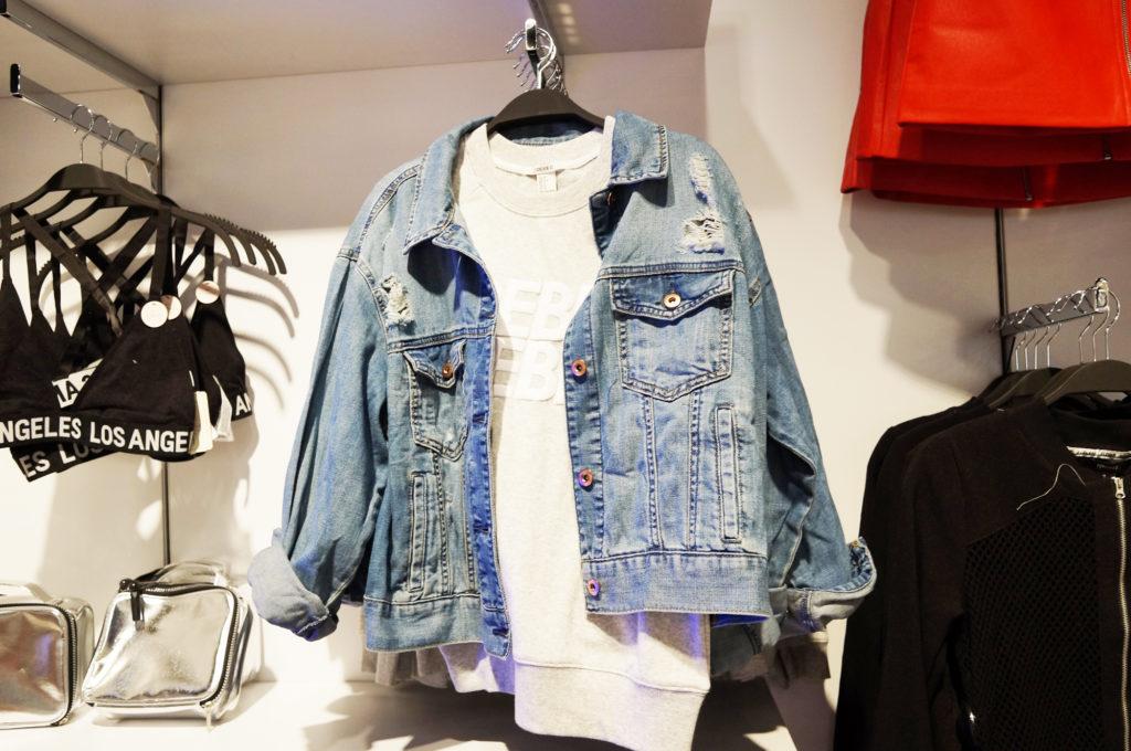 forever 21 kurtka jeansowa