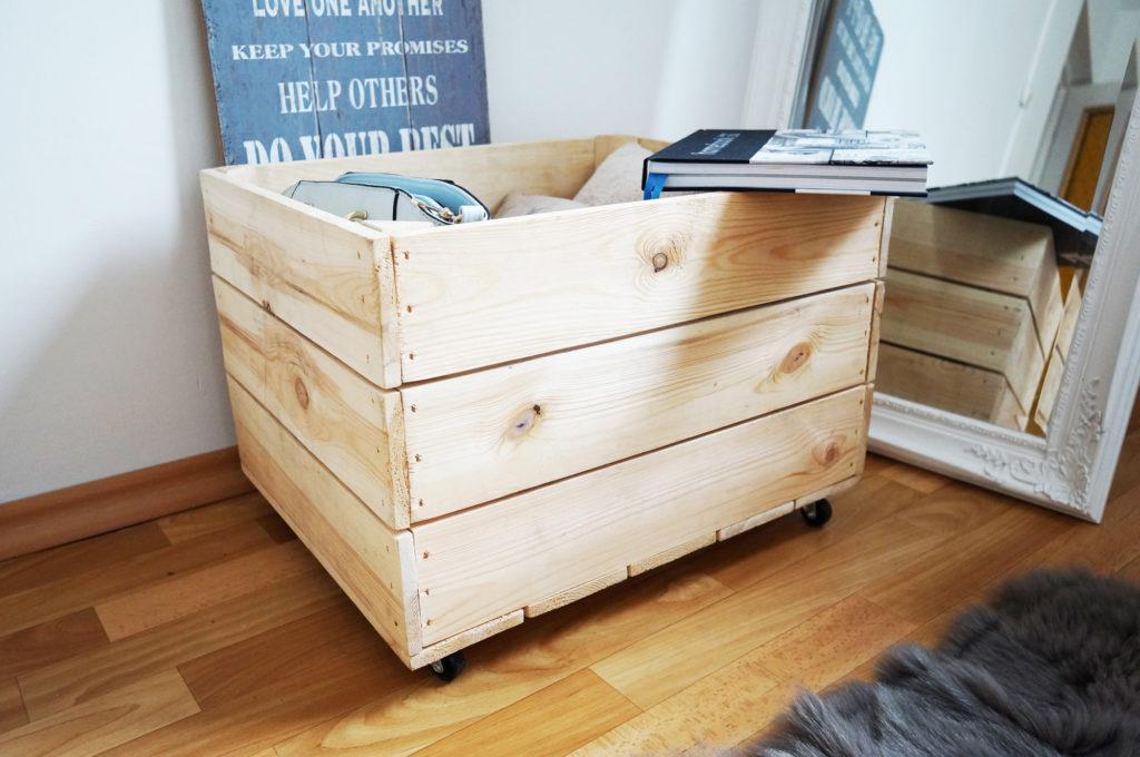 skrzynka drewniana skandynawska