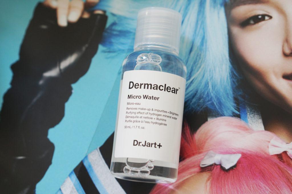 dr jart derma clear mineral water