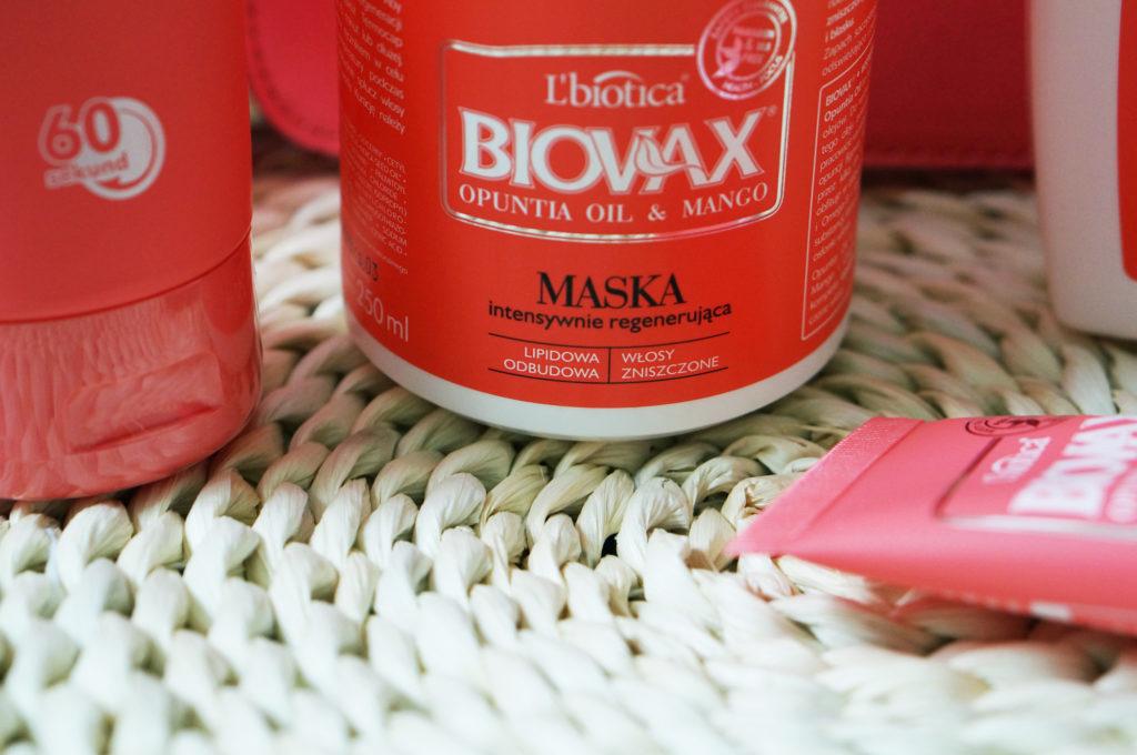 biovax maska intensywnie regenrująca