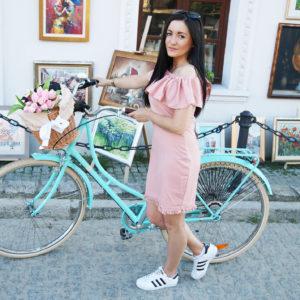 Wymarzony rower miejski od Le Grand w kolorze miętowym
