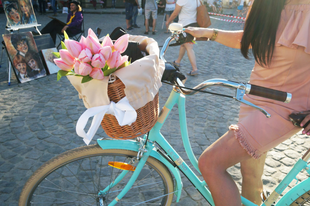 miętowy rower le grand virginia