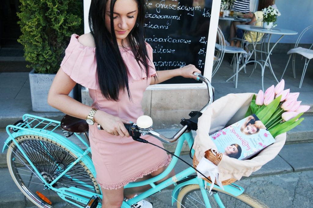 miętowy rower na miasto