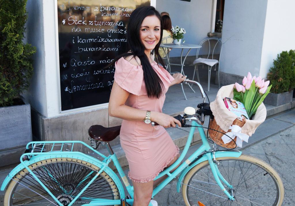 rower damka miętowy