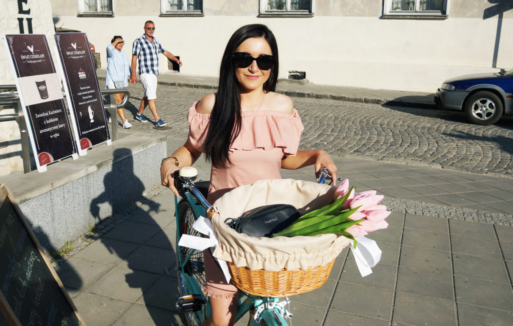 rower miejski dla kobiety