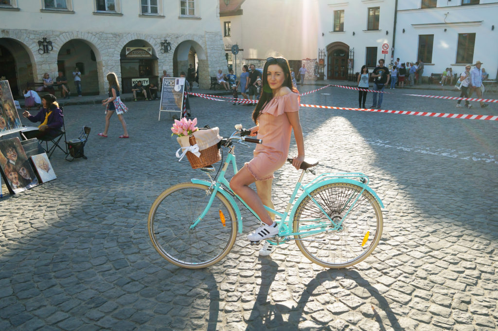 virginia miętowa rower
