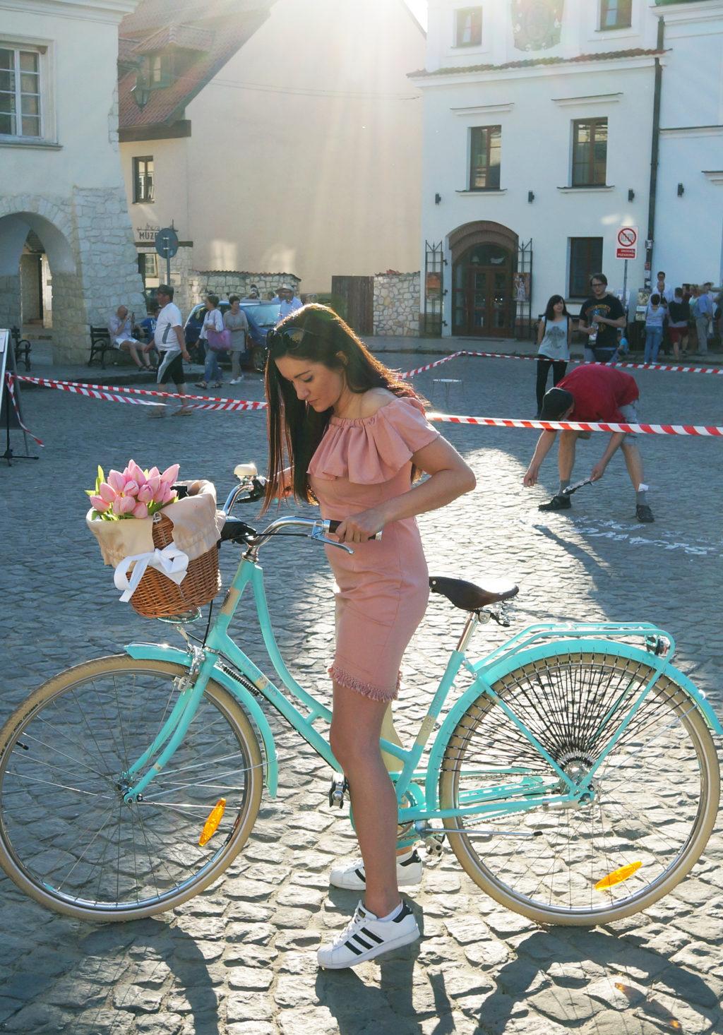 virginia miętowy rower