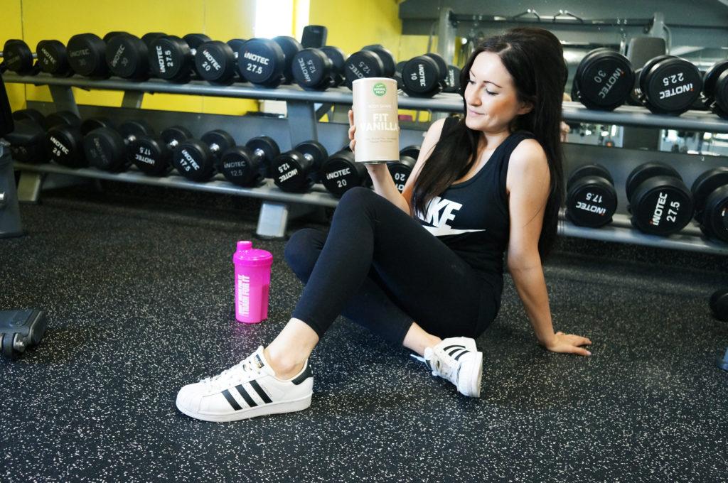 białko na siłownię