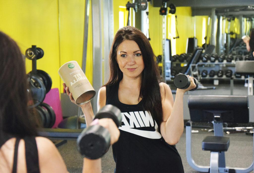 białko siłownia