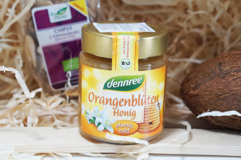 bio miód z pomarańczy