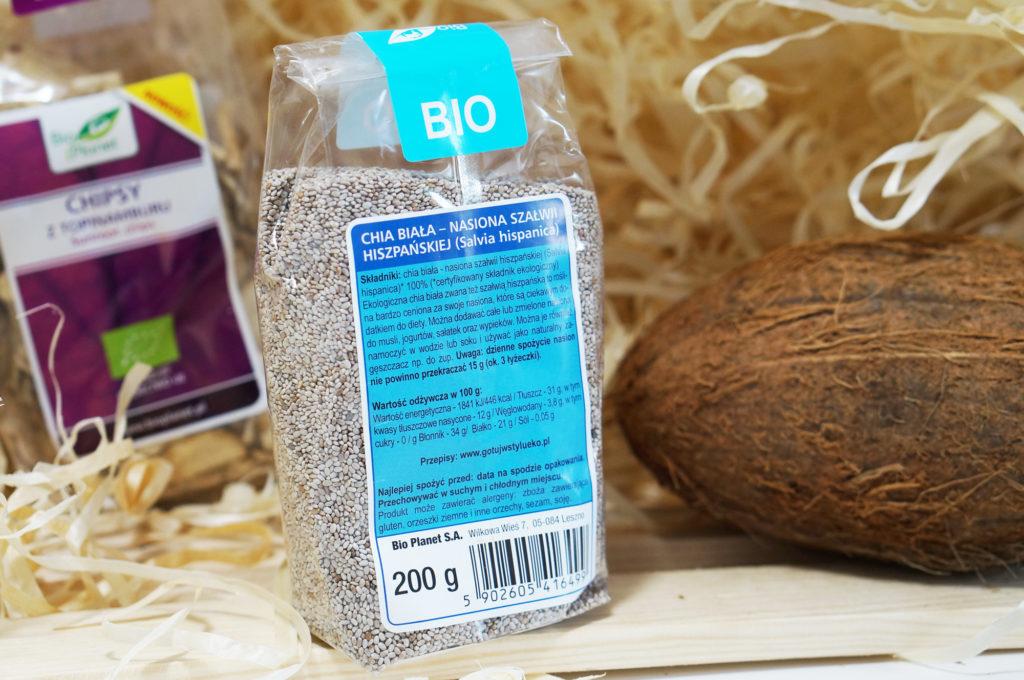 chia biała nasiona szałwii