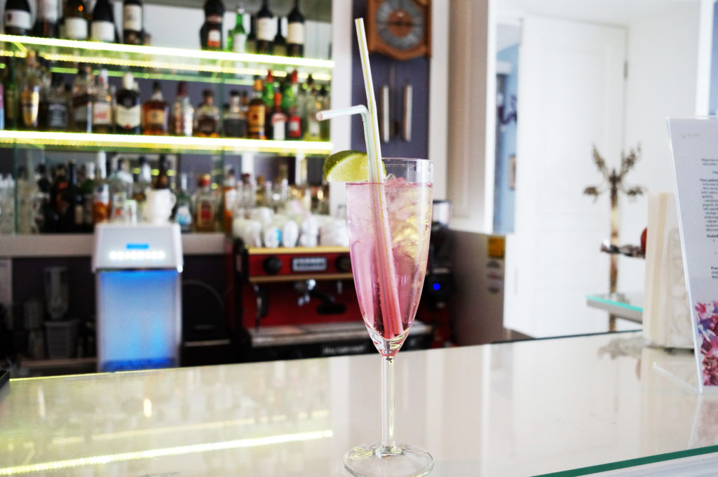 talaria spa drink bar