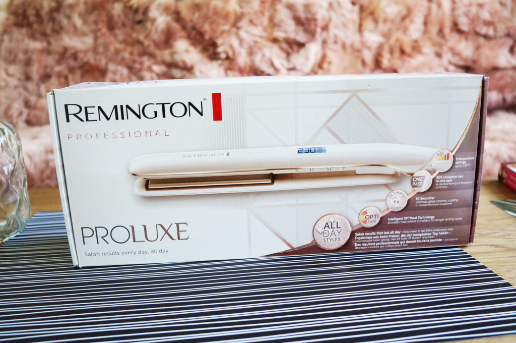 remington pro luxe prostownica