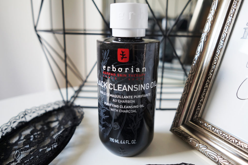 erborian black cleasing oil
