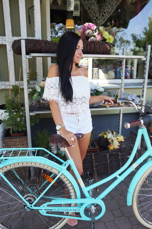 miętowy rower holenderski