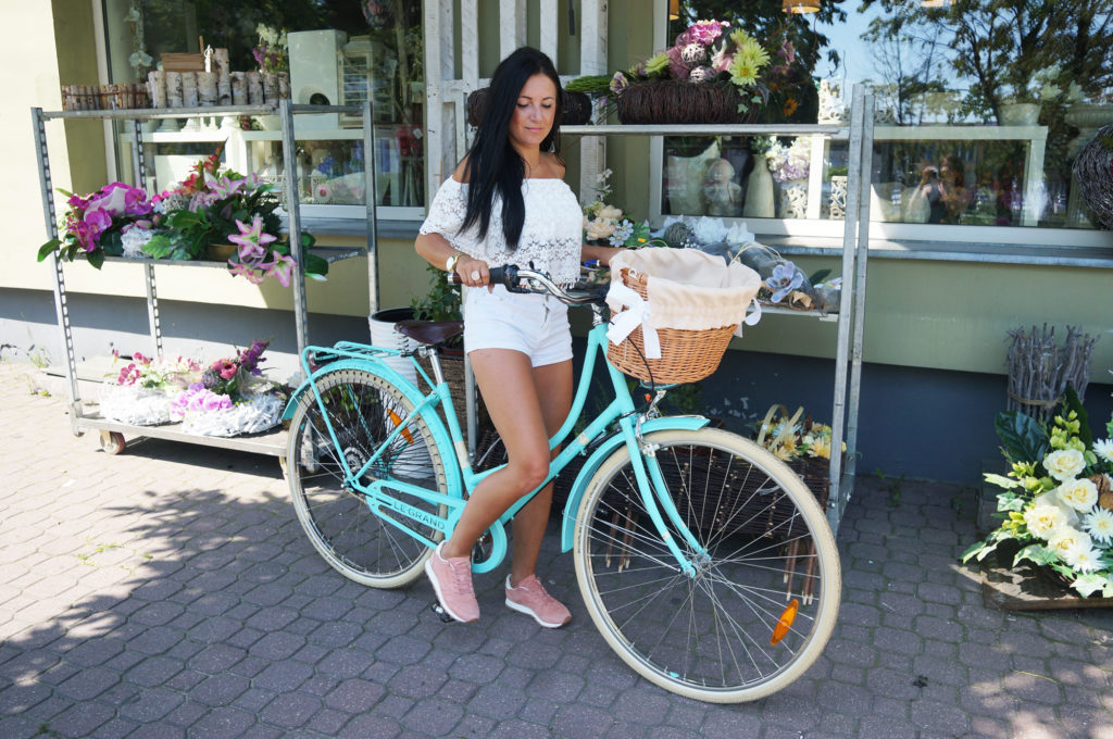rower mietowy