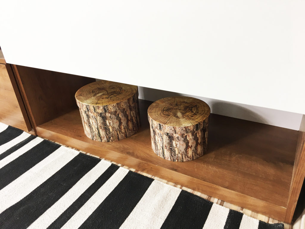 pudełka drzewo