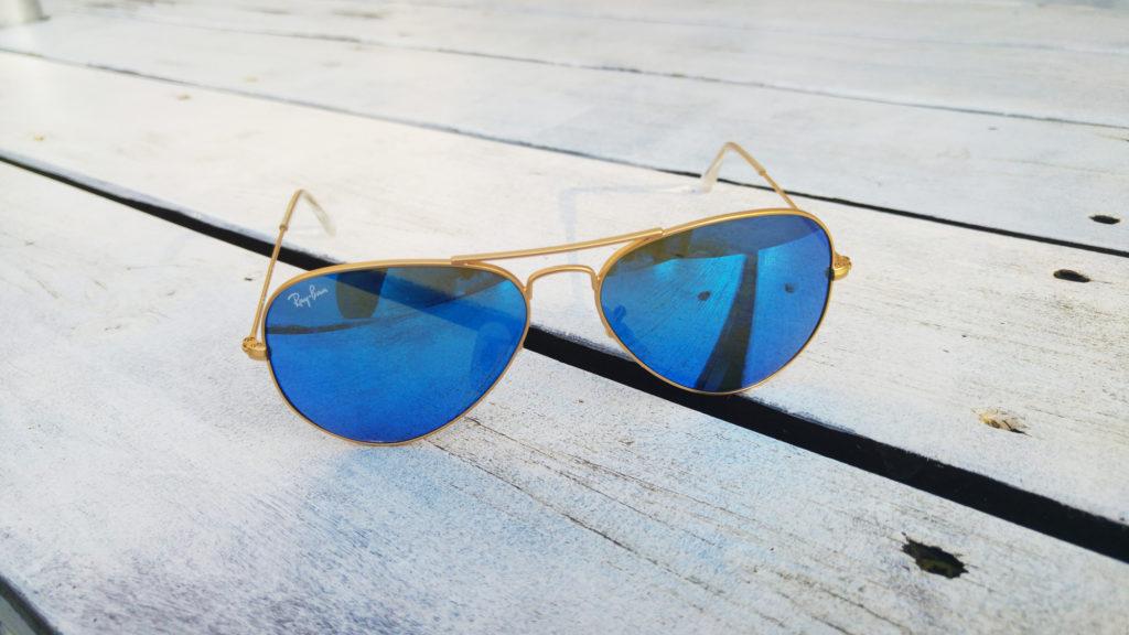 rayban blue